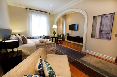Suite im Lastarria Hotel Boutique in Santiago de Chile