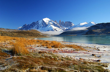 Landschaft im Nationalpark Torres del Paine