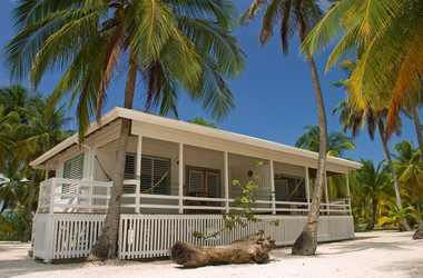 Cottage auf South Water Caye, Belize