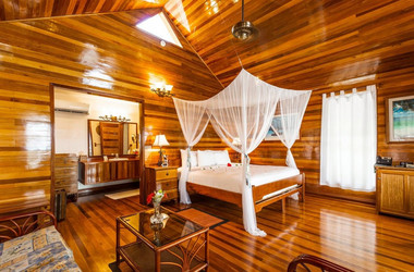 Privater Bungalow im Turneffe Island Resort