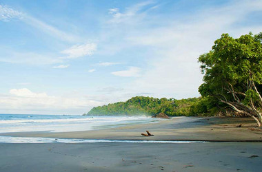 Strand am Karahe Beach Hotel in Costa Rica