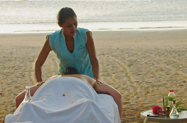 Massage am Strand Hotel Bosque del Mar