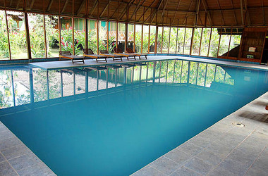 Pool der Ecoamazonia Lodge in Pero