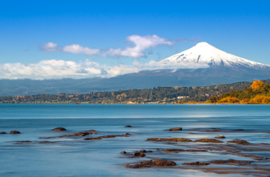 Lago Villarrica in Chile