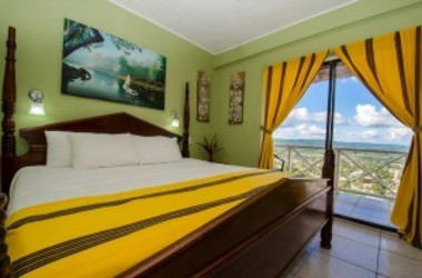 Standardzimmer im Cahal Pech Village Resort in Belize